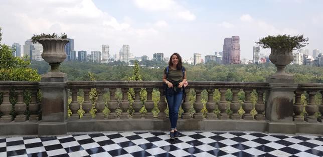 Balcón del Castillo de Chapultepec