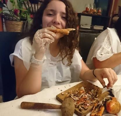 Valeria y el cangrejo
