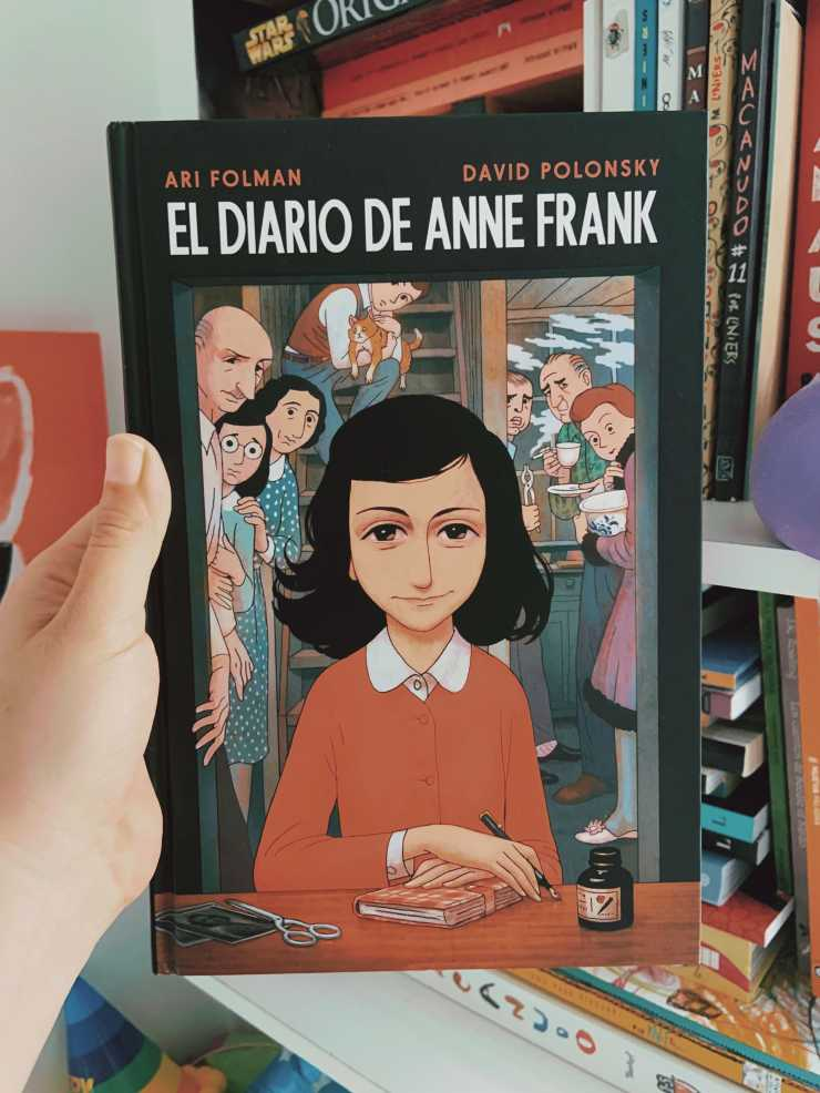 Anne Frank Cómic-min