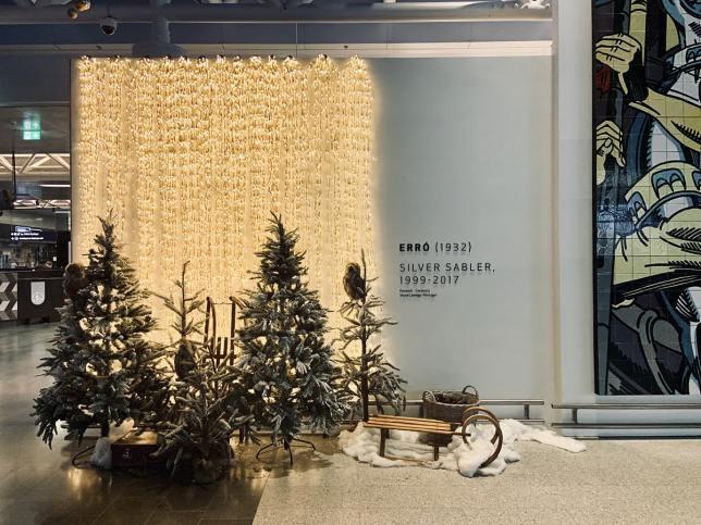 Navidad en Aeropuerto Keflavik